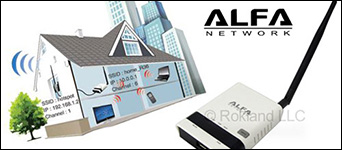 Alfa R36 router