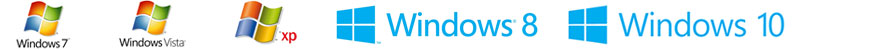 compatible with windows xp, vista, windows 7, 8